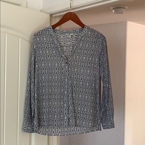 Joie Silk Blouse Small